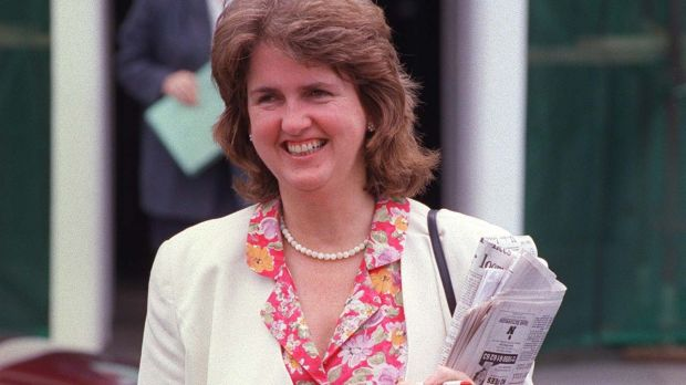 Joan Burton. Photograph: Paddy Whelan