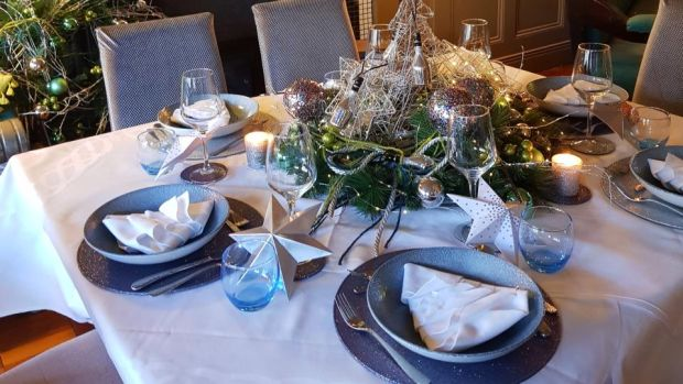 Maria Raftery's Christmas table: 'I always go all out with a bit of glamour and sparkles'