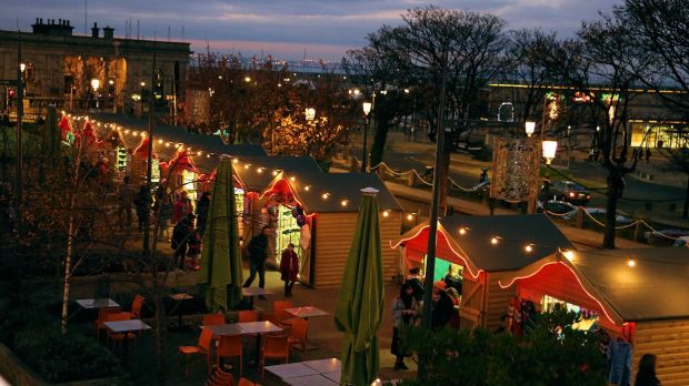 The Dún Laoghaire Christmas Market