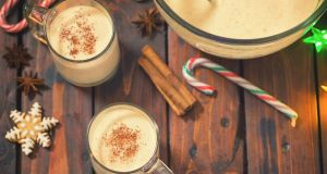 Essentially, eggnog is like a cold uncooked custard. Photograph: Getty Images