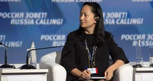 Meng Wanzhou was controversially arrested in Canada. Photograph: Reuters