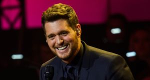 Michael Bublé in Munich on December 4th. Photograph: Joerg Koch/Getty Images