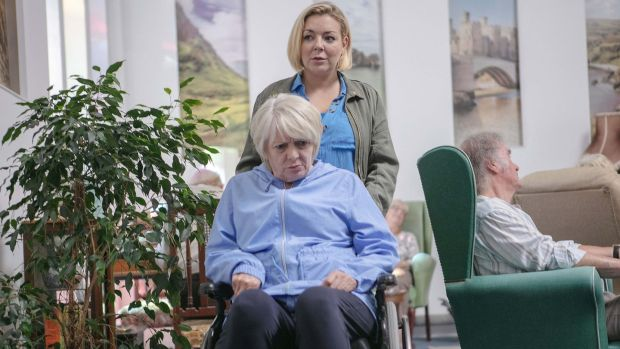Alison Steadman and Sheridan Smith in Care, BBC1