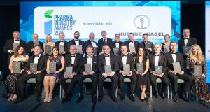 Irish pharma industry gathers for awards night