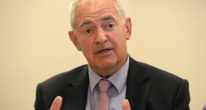 Dr Peter Boylan said that if the service is not introduced women will still have to go to the UK for terminations and any delay would not be fair. Photograph: Dara Mac Dónaill
