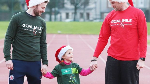More than 30,000 people have taken part in the Goal Mile since it began three decades ago