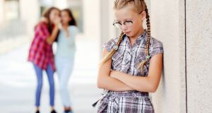 She was anxious going into school today on account of what was being said. Photograph: iStock