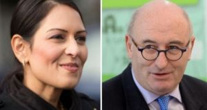 Tory MP Priti Patel's food shortage comments were criticised by EU agriculture commissioner Phil Hogan.