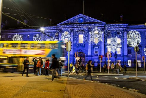 Trinity College in Dublin. Photograph: James Forde/The Irish Times