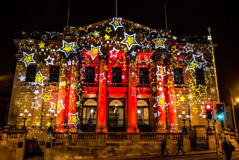 City Hall on Dame Street. Photograph: James Forde/The Irish Times