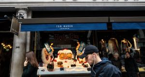 Ted Baker's share price has fallen by nearly a quarter in the last few days, as past employees complained of a culture of 'forced hugging' led by its chief executive Ray Kelvin. Photograph: Getty Images