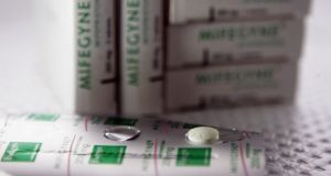 Two drugs, Mifepristone and Misoprostol, are used in a medical abortion. File photograph: Getty Images
