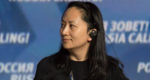 Arrested Huawei executive board member Meng Wanzhou is the daughter of the company's founder. Photograph: Reuters