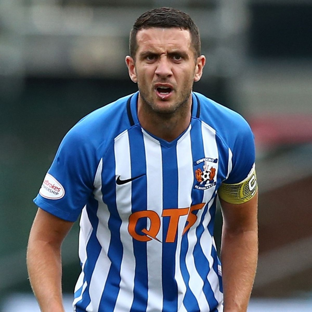 Dubliner Gary Dicker dreaming of the title with Kilmarnock