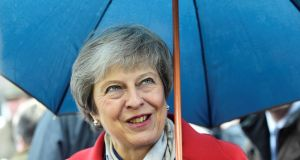Britain's prime minister Theresa May: came under pressure to reveal list of North-South bodies to be protected. Photograph: Rebecca Naden