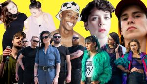 Stars of 2018 (from left, top): Saint Sister, Rejjie Snow, Lisa O'Neill, Kojaque. Front row: Grian Chatten of Fontaines DC, Le Galaxie and Wyvern Lingo