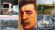 Art highlights from 2018 include the Roderic O'Conor show at the National Gallery (centre)