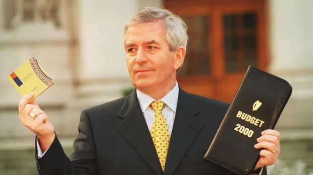 Former minister for finance Charlie McCreevy introduced the controversial policy of individualisation in Budget 2000. Photograph: Frank Miller