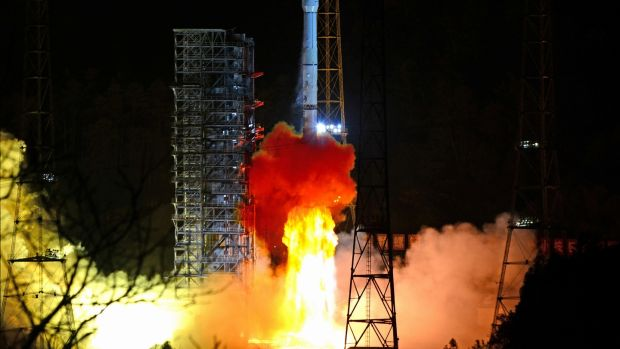 The project constitutes an important part of Beijing's space programme. Photograph: Reuters