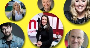 Tuned in: Eoghan McDermott, Miriam O'Callaghan, Matt Cooper, Ciara Kelly, Tracy Clifford and Ivan Yates