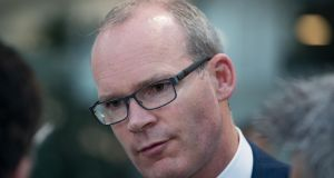 "Minister for Foreign Affairs Simon Coveney: the memorial will be ""a testament to our commitment to working with organisations like Front Line Defenders in promoting and protecting human rights throughout the world"". Photograph: Tom Hona"