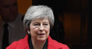The court ruling comes ahead of Tuesday's crunch vote on the British prime minister Theresa May's Brexit deal. Photograph: Photograph Andy Rain/EPA