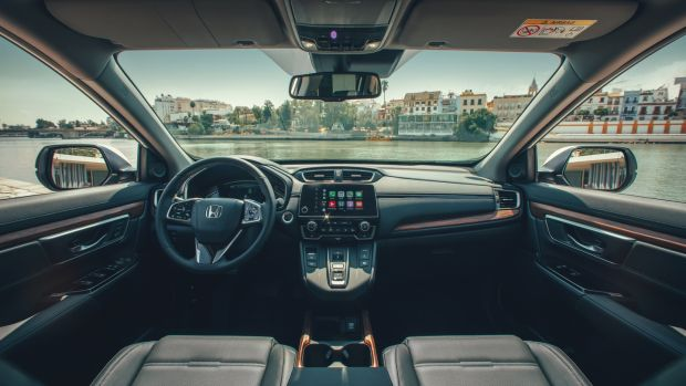 Honda's hybrid CR-V keeps it clean and comfortable
