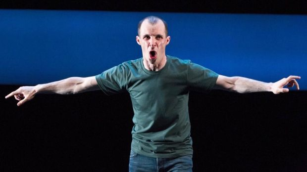 Tom Vaughan-Lawlor in Howie The Rookie at the Irish Arts Center