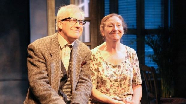 Deirdre Kinahan: Stephen Brennan and Anita Reeve in These Halycon Days at the Irish Arts Center