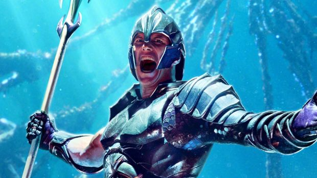 Patrick Wilson in Aquaman. Photograph: Warner Bros. Pictures & DC Comics