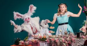 Alice: The Musical – a big, blousy performance that hints at Theresa in Brexitland