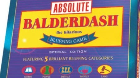 Balderdash: great game for the bluffers in the family