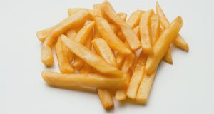 To make the ideal white chip, the potato in question has to have a low sugar content or else they'll brown too quickly.