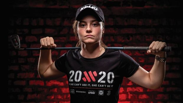"Pro golfer, Leona Maguire: ""The ambition of 20x20 to promote women in sport is a great way of helping ensure the development and profile of so many talented people."""