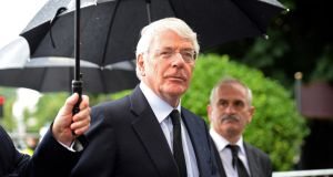 Former UK prime minister Sir John Major has criticised the 'breathtaking ignorance' unionist leaders and Eurosceptics have shown over the Irish border during the Brexit debate. File photograph: Eric Luke/The Irish Times.