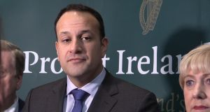 "Taoiseach Leo Varadkar: ""It will have to be rolled out, it will have to be phased in."" Photograph: PA Wire"