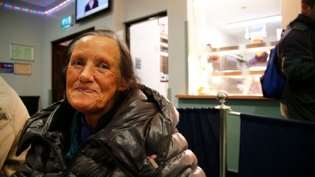 Monica Aherne at the Capuchin Day Centre on Bow Lane, Dublin. Photograph Nick Bradshaw/The Irish Times