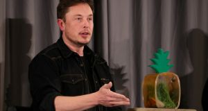 Tesla chief executive Elon Musk. Photograph: Lucy Nicholson/File Photo/Reuters