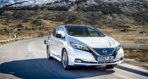 Nissan Leaf: a hatchback with a realistic 200km all-electric, zero-local-emissions range