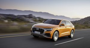 Audi Q8: Its glowering, hulking, styling should make it intimidating, but it's actually a big, friendly thing with a relaxing driving experience