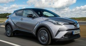 Toyota C-HR: looks distinctive, that's for sure, with styling that seems more Nike than Toyota