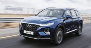 What strikes you most about the new Hyundai Santa Fe is just how 'premium' it has become