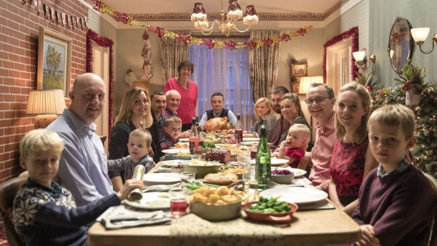 The making of Christmas: Mary and Adrian Spillet's shoot for the latest Lidl Christmas ad.