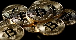 Bitcoin has lost 80 per cent of its value in the last year. Photograph: Benoit Tessier/Reuters
