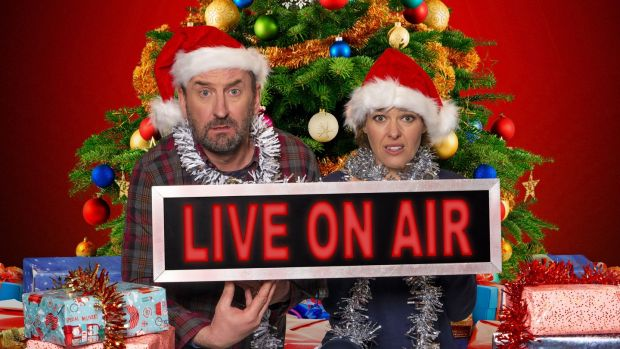 Lee Mack and Sally Bretton, Not Going Live Christmas Special, BBC1