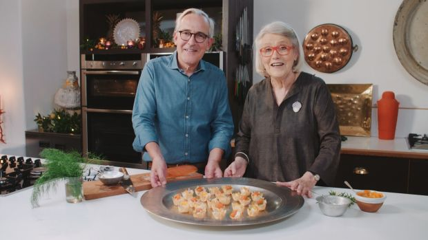 Rory O'Connell and Darina Allen, Simply Delicious Christmas, RTE One