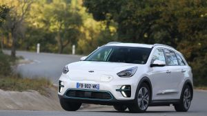 Sadly, the e-Niro is pretty ordinary to drive. It's a pity Kia couldn't engineer some of the  new Ceed into the e-Niro's steering and suspension