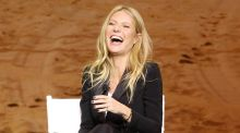 Gwyneth Paltrow's pubic hair 'Fur Oil': Try Me, reads the sticker
