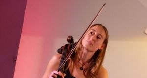 Kate Ellis: Sraith is a lonely and absorbing meditation for cello and electronics where  Ellis  in effect duets with herself, partnered by the notes she has already played and which then are manipulated by a sound engineer
