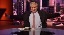 "Boris Johnson on BBC's ""The Andrew Marr Show"": crowned Idiot of the Year by the ""Economist"". Photograph: Jeff Overs"